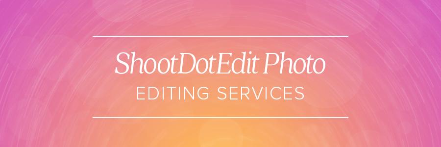 professional wedding photographer editing service
