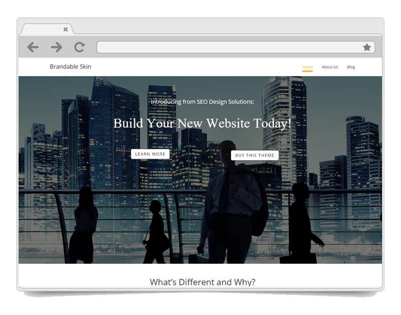 Brandable WordPress Theme