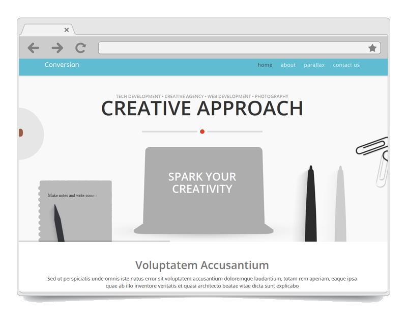 Conversion WordPress Theme