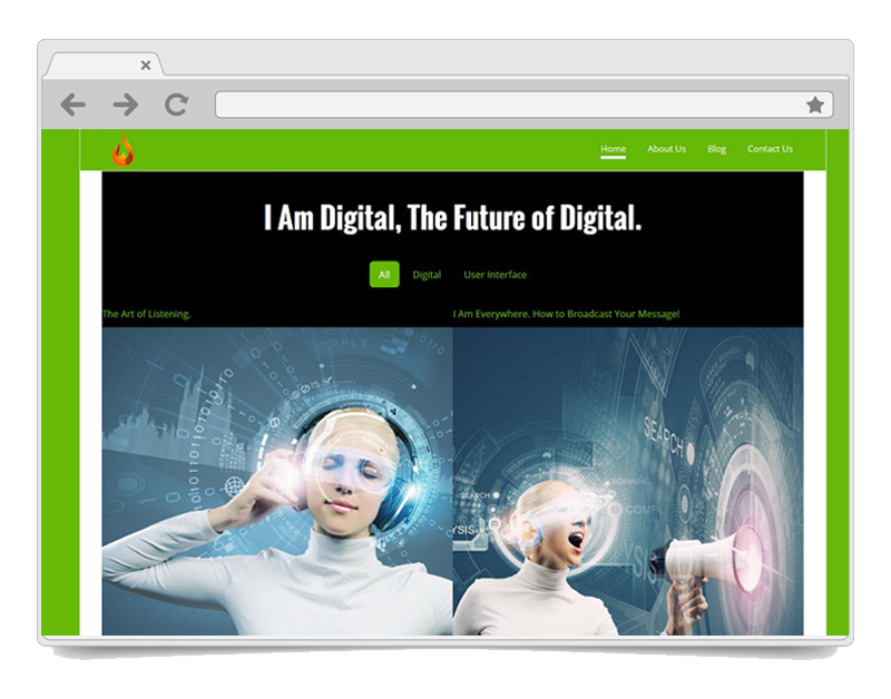 I am Digital WordPress Theme