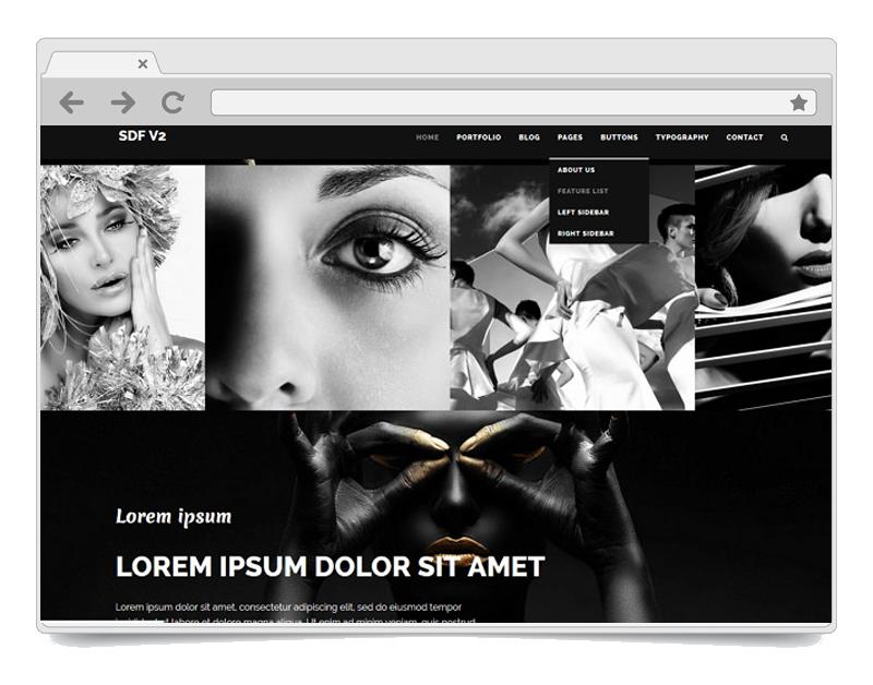 Noir WordPress Theme