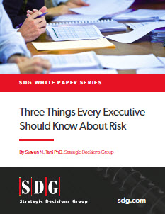 Three Things Every Executive Should Know About Risk