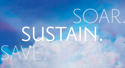 SAVE. SUSTAIN. SOAR.