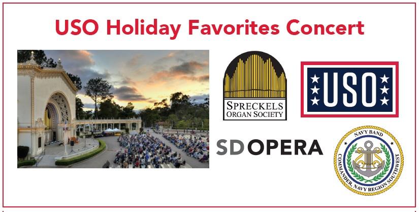 USO Holiday Favorites Concert