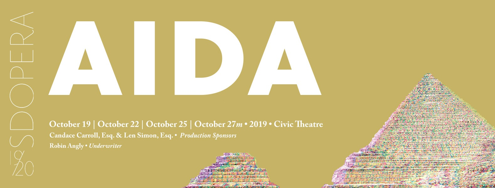 AIDA-Only two performances left!