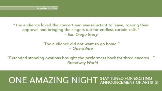 One Amazing Night