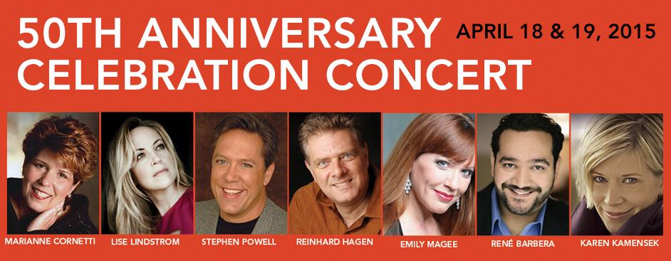 50th Anniversary Celebration Concert