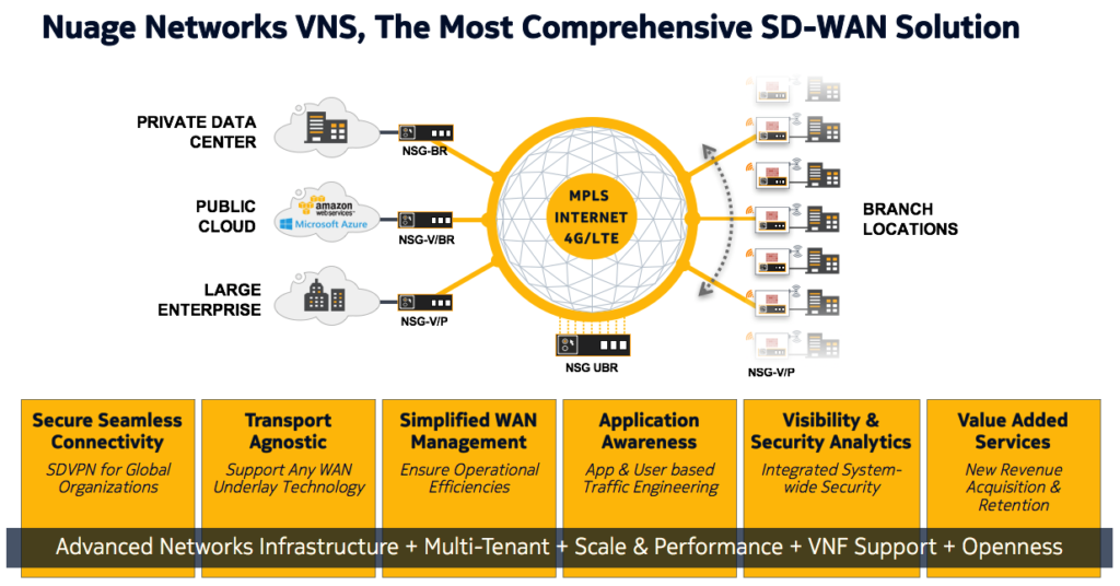 Virtualized Network Services (VNS)
