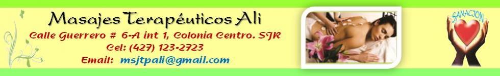 Masajes Terapéuticos Ali