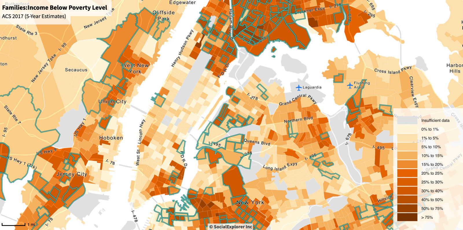 Opportunity Zones Map of NY