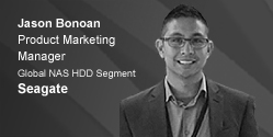 Jason Bonoan - Product Marketing Manager at Seagate
