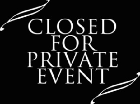 Image result for closed for private event
