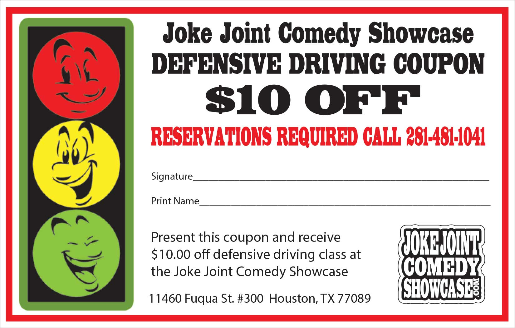 Defensive Driving Coupon Houston