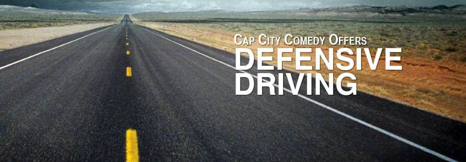 Cap City Defensive Driving Banner