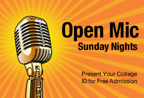 Photo Link to Open Mic Page
