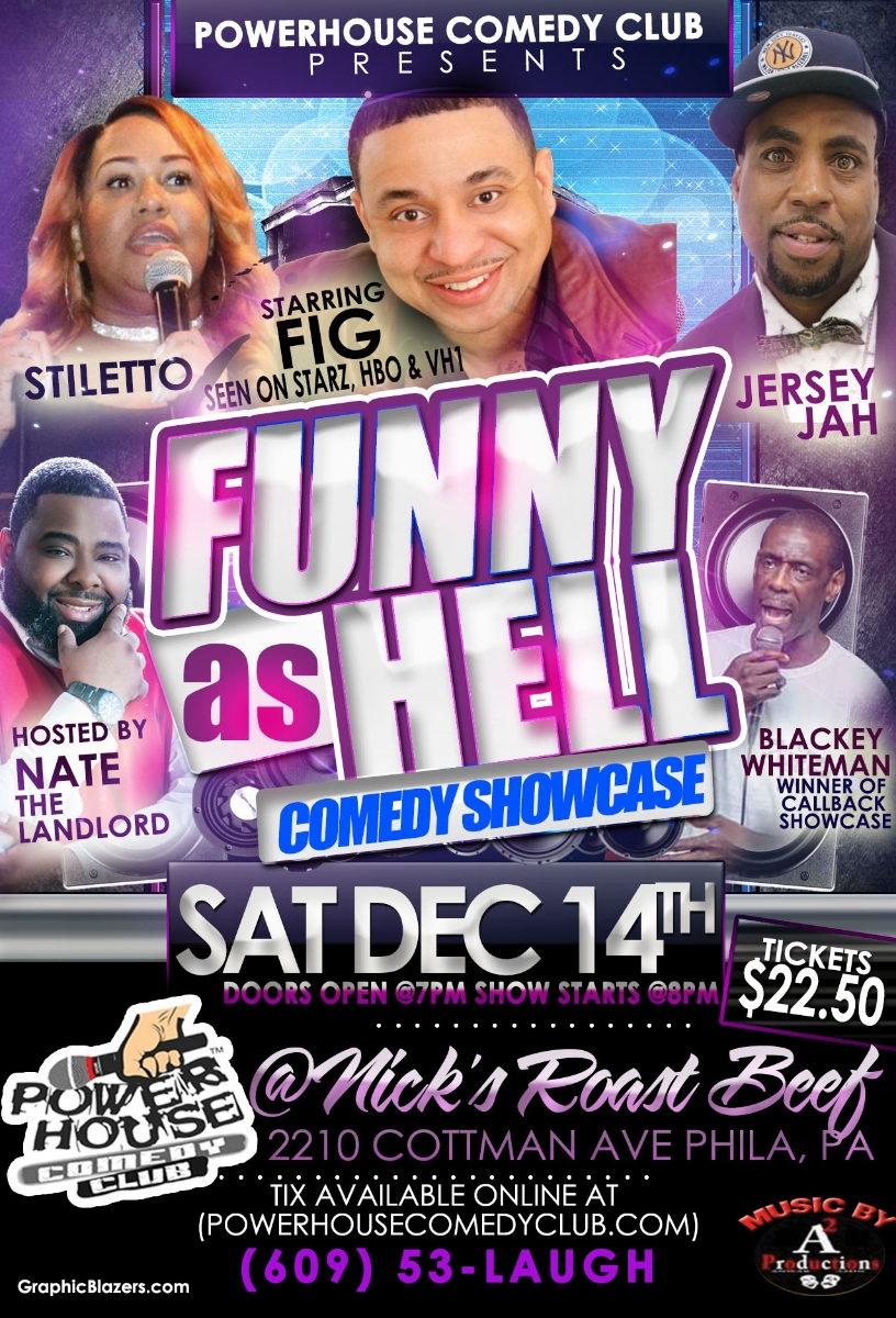 Funny As Hell Comedy Show