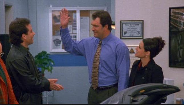 Patrick Warburton on Seinfeld