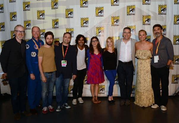 The Big Bang Theory Cast Comic Con Panel 2012