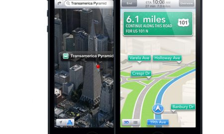 apple maps iphone