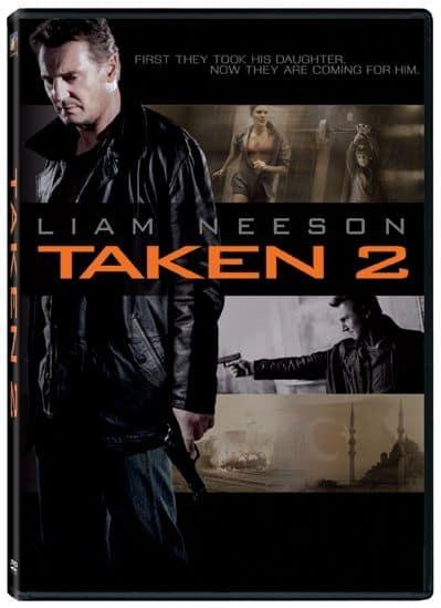 Taken 2 DVD