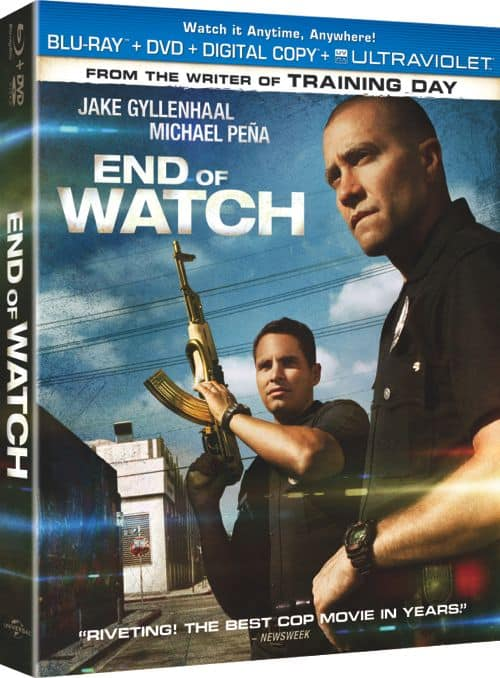 End Of Watch Bluray