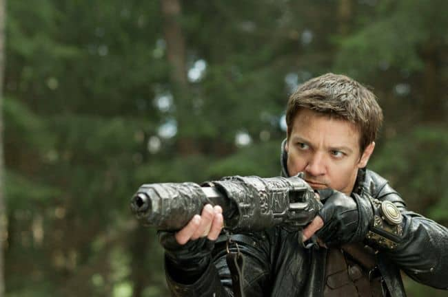 HANSEL AND GRETEL WITCH HUNTERS Gemma Jeremy Renner