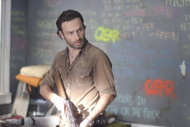 Rick Grimes (Andrew Lincoln) - The Walking Dead - Season 3, Episode 12