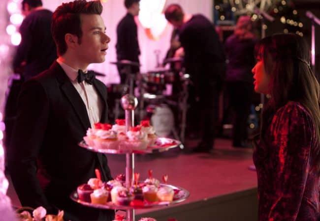 Kurt - Chris Colfer Tina - Jenna Ushkowitz Glee