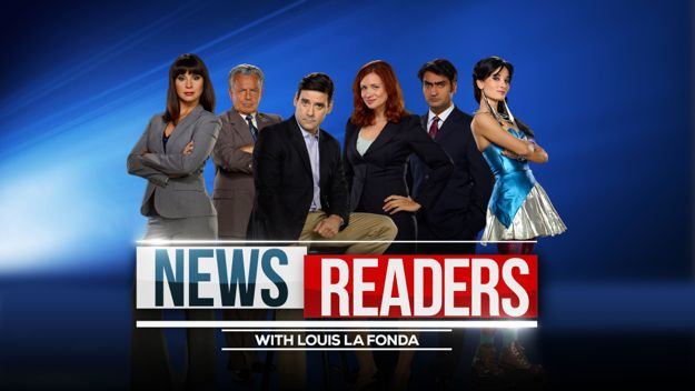 Newsreaders Cast Photo