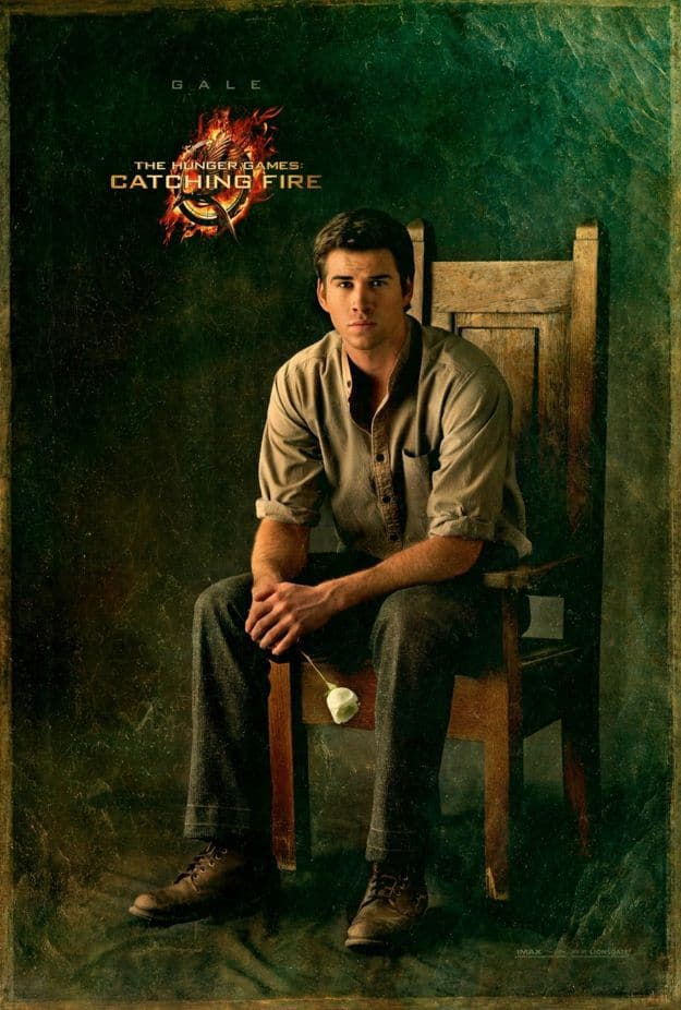 THE HUNGER GAMES CATCHING FIRE Gale Character Poster