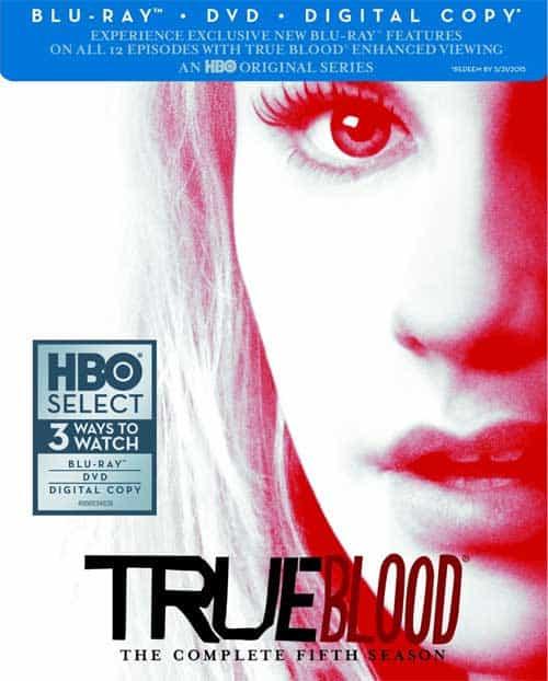 True Blood Season 5 Bluray DVD