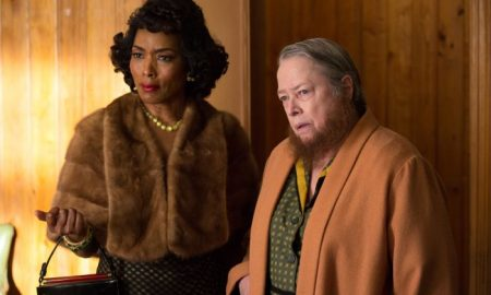 Angela Bassett as Desiree Dupree, Kathy Bates as Ethel Darling American Horror Story Freak Show