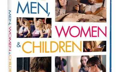 MEN WOMEN And CHILDREN Bluray Cover Artwork