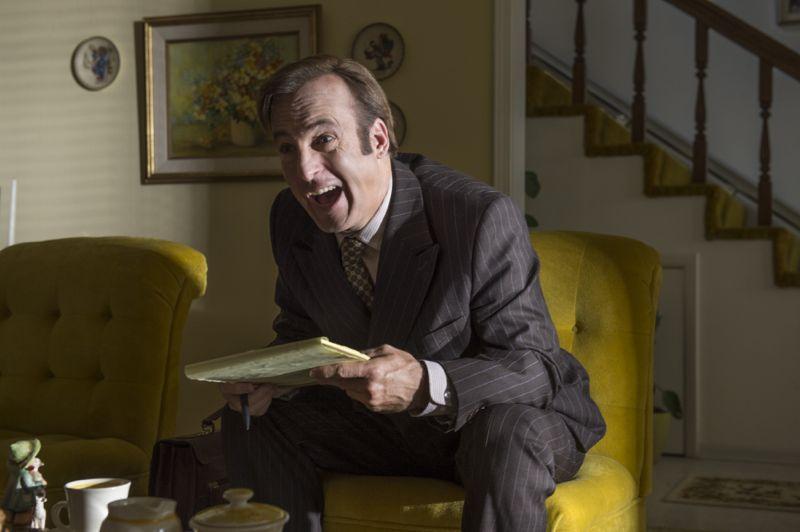 Bob Odenkirk as Jimmy McGill - Better Call Saul _ Season 1, Episode 5
