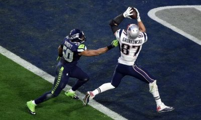 Rob Gronkowski Super Bowl Touchdown