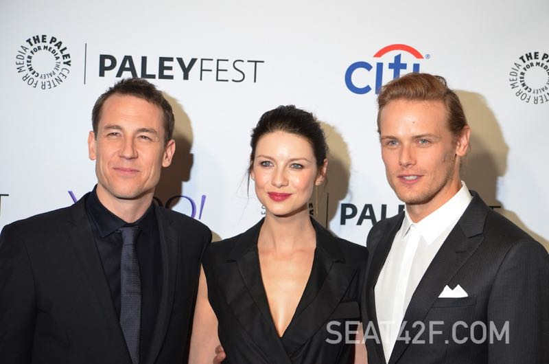 OUTLANDER Scoop: Interviews With Cast At PaleyFest | SEAT42F