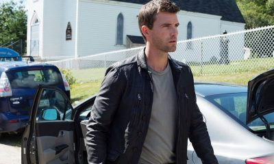 """HAVEN -- """"New World Order"""" Episode 514 -- Pictured: Lucas Bryant as Nathan Wuornos -- (Photo by: Mike Tompkins/Haven 5 Productions/Syfy)"""