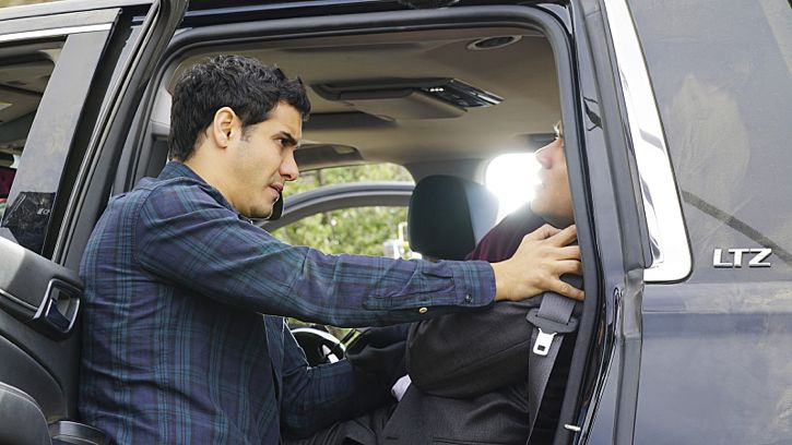"""""""Adaptation"""" -- While Team Scorpion works to stop an influx of drugs being smuggled into the country via drones, Walter gives Happy and Toby an ultimatum on their new relationship, on SCORPION, Monday, Feb. 22 (9:00-9:59 PM, ET/PT) on the CBS Television Network. Pictured: Elyes Gabel as Walter O'Brien, Photo: Monty Brinton/CBS ©2016 CBS Broadcasting, Inc. All Rights Reserved"""