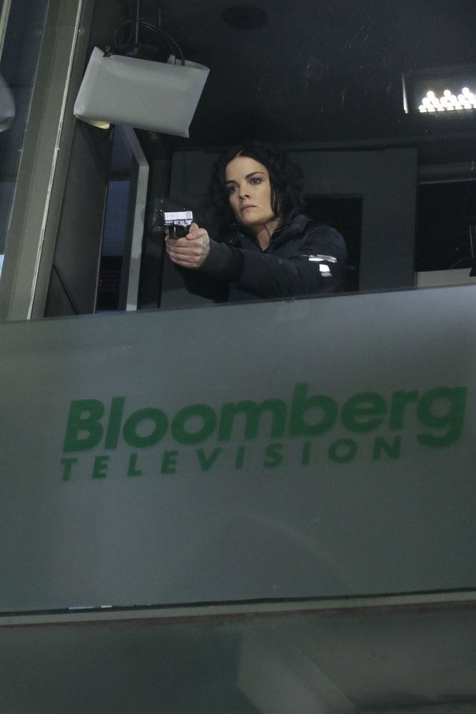 "BLINDSPOT -- ""Any Wounded Thief"" Episode 116 -- Pictured: Jaimie Alexander as Jane Doe -- (Photo by: Giovanni Rufino/NBC)"