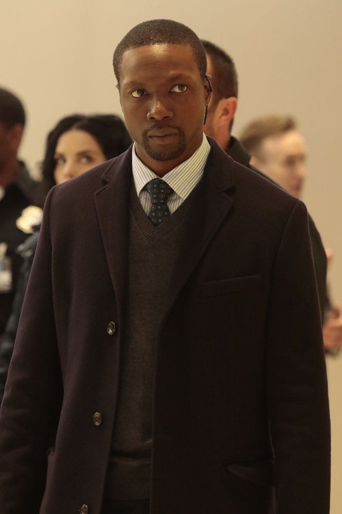 "BLINDSPOT -- ""Any Wounded Thief"" Episode 116 -- Pictured: Rob Brown as Edgar Reed -- (Photo by: Giovanni Rufino/NBC)"