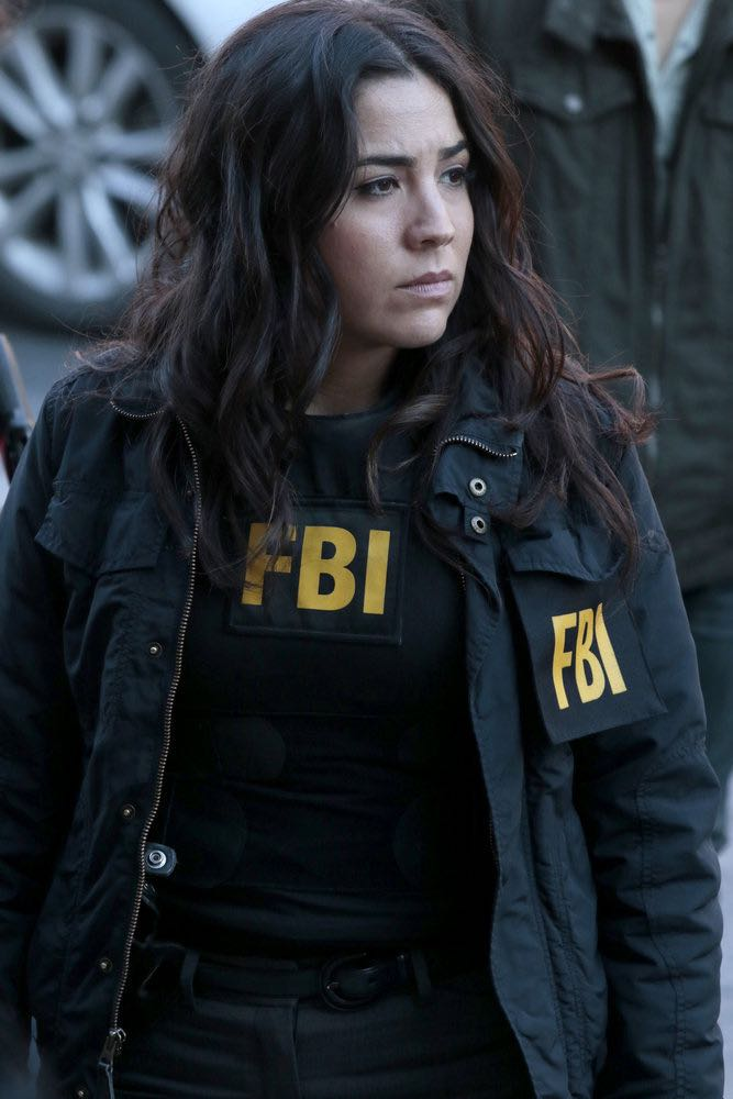 "BLINDSPOT -- ""Any Wounded Thief"" Episode 116 -- Pictured: Audrey Esparza as Tasha Zapata -- (Photo by: Giovanni Rufino/NBC)"
