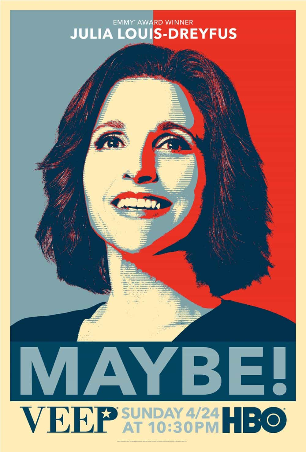 Veep Season 5 Poster Key Art HBO