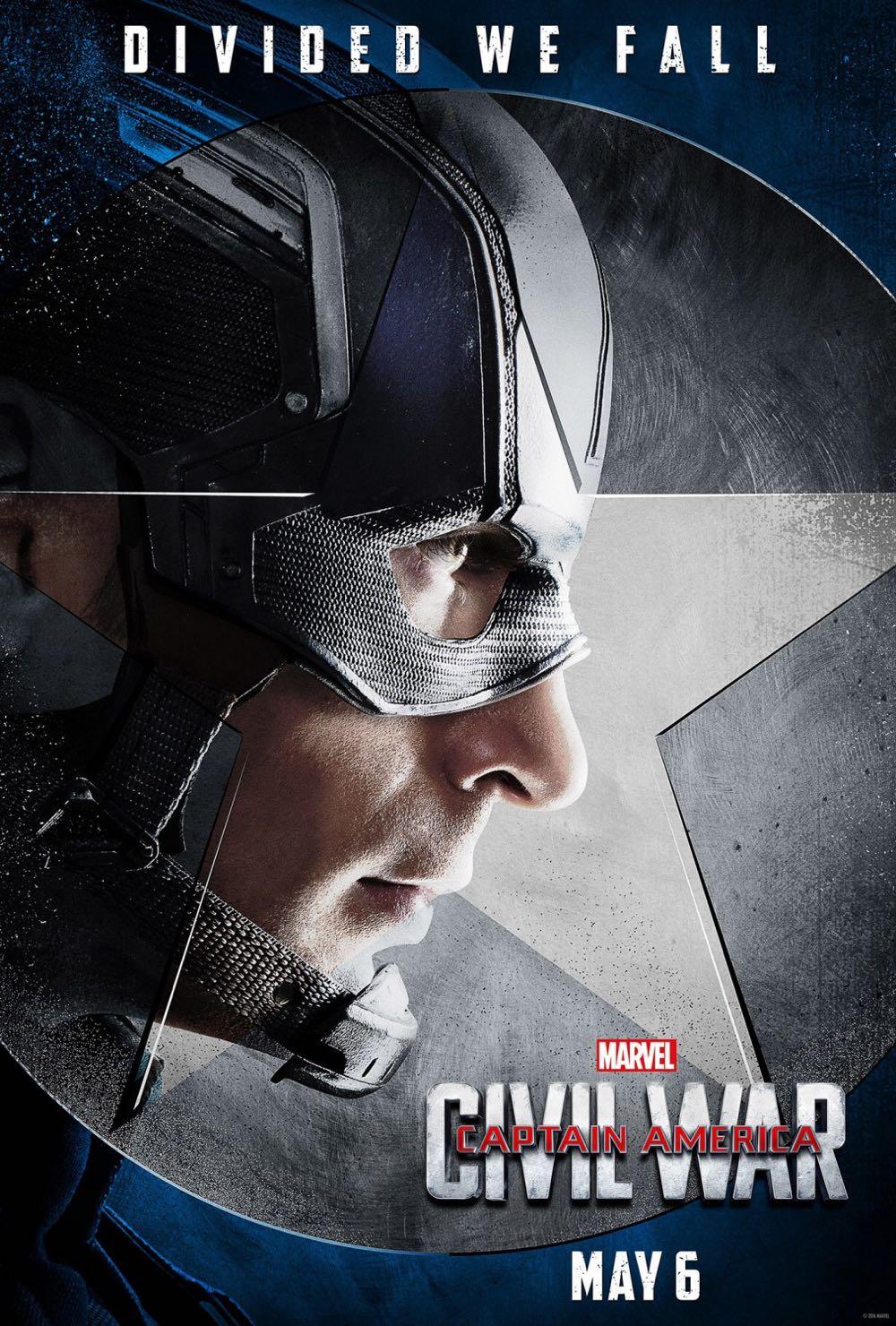 CAPTAIN AMERICA CIVIL WAR : Chris Evans Captain America