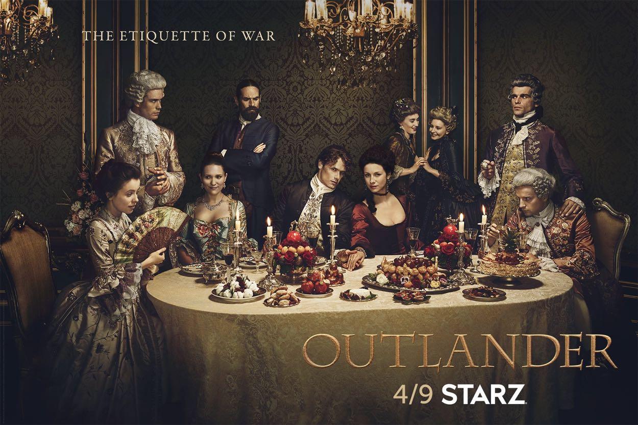 Outlander Season 2 Key Art Poster
