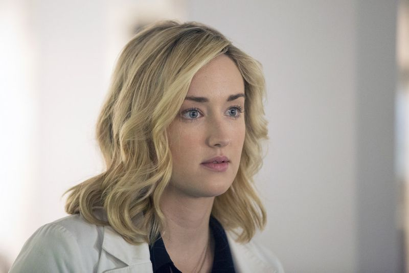 "BLINDSPOT -- ""Scientists Hollow Fortune"" Episode 112 -- Pictured: Ashley Johnson as Patterson -- (Photo by: {Paul Sarkis/NBC)"