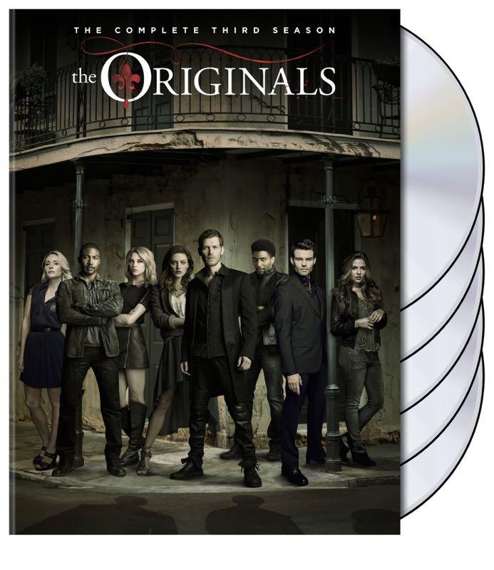 Lucifer Season 4 Netflix Release Date Who S In The Cast: THE ORIGINALS Season 3 DVD Release Details