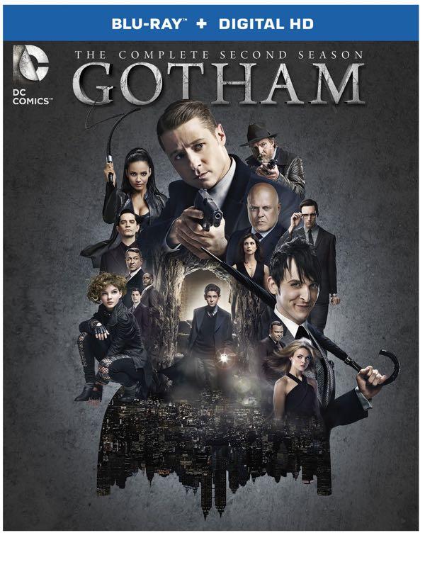 Gotham Season 2 Bluray