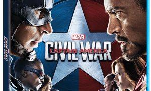 Captain America Civil War Bluray