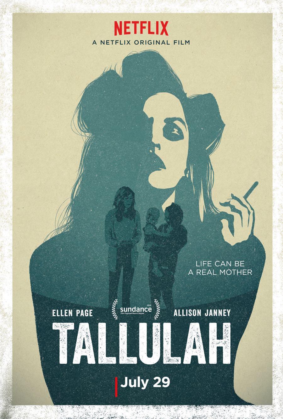 Tallulah Key Art Poster Ellen Page Netflix