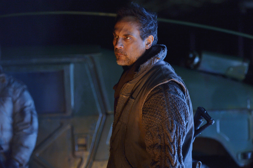 """12 MONKEYS -- """"Blood Washed Away"""" Episode 212 -- Pictured: Todd Stashwick as Deacon -- (Photo by: Ben Mark Holzberg/Syfy)"""